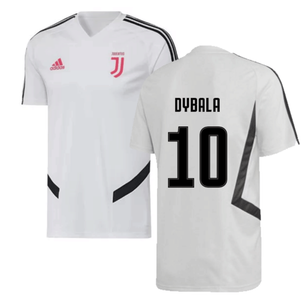 size 40 177be b209f 2019-2020 Juventus Adidas Training Shirt (White) (Dybala 10)