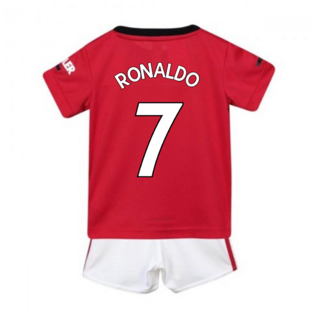 watch bfedf 96dbc 2019-2020 Man Utd Adidas Home Baby Kit (RONALDO 7)