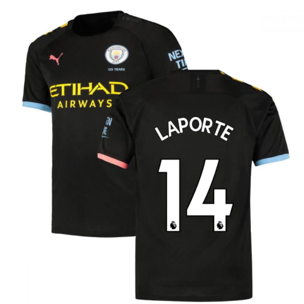 2019-2020 Manchester City Puma Away Football Shirt (LAPORTE 14)