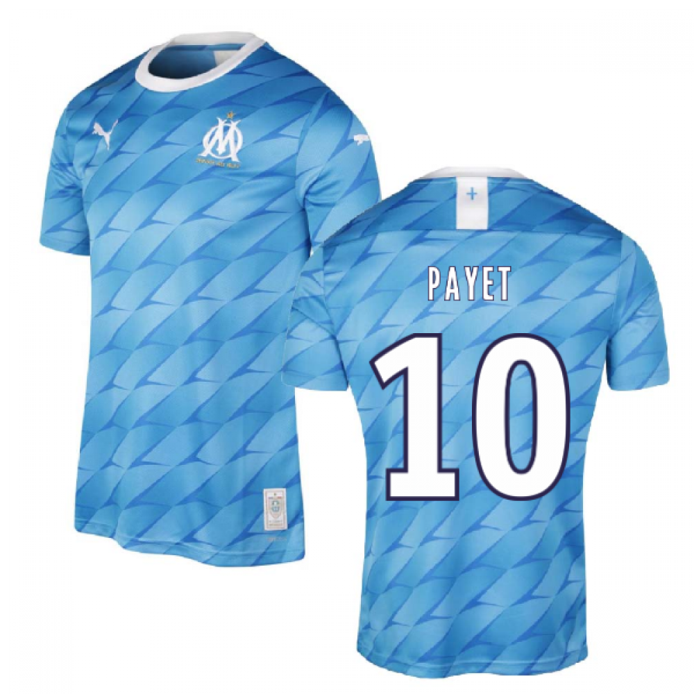 2019-2020 Marseille Away Shirt (Kids) (PAYET 10)