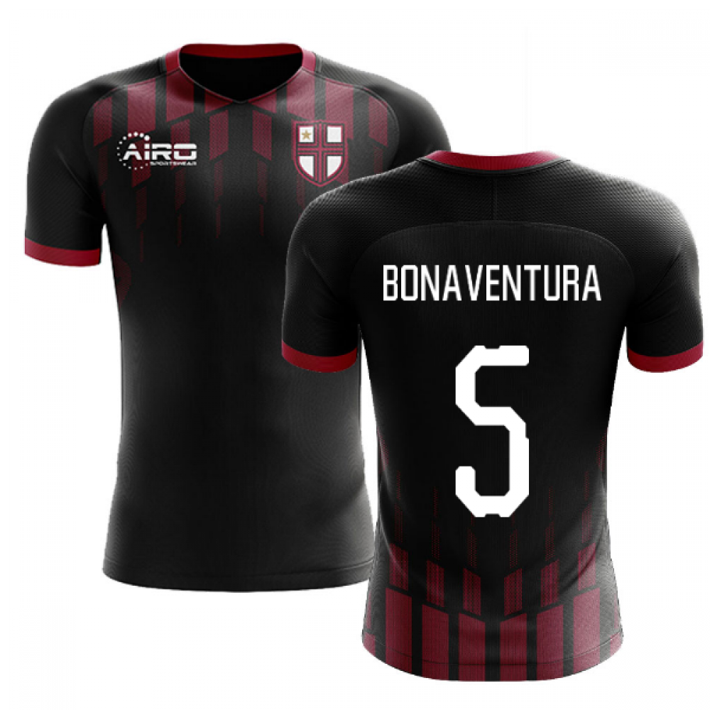 2020-2021 Milan Pre-Match Concept Football Shirt (BONAVENTURA 5)
