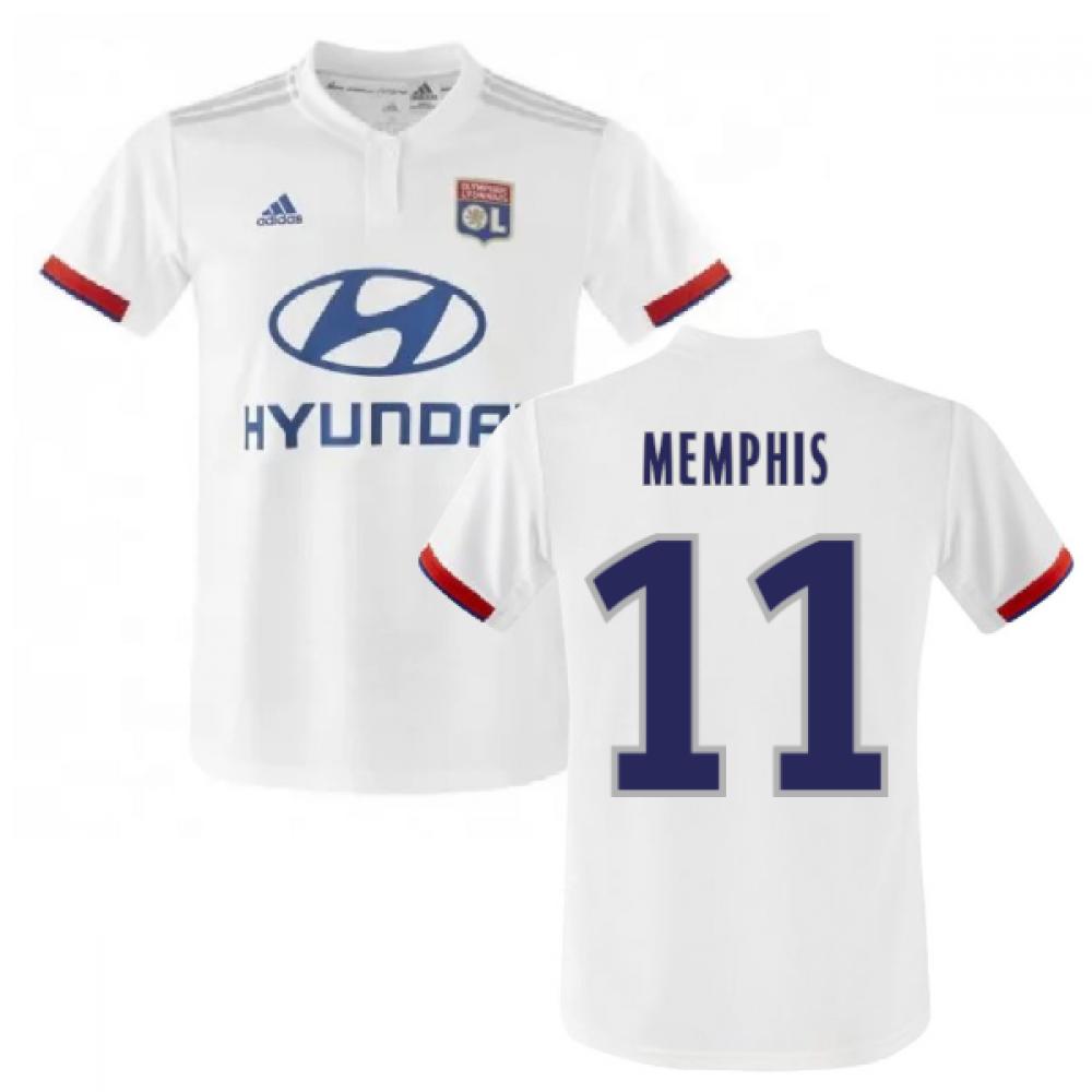 Medio Repulsión invadir  2019-2020 Olympique Lyon Adidas Home Football Shirt (MEMPHIS 11)  [DW4411-140723] - $103.91 Teamzo.com