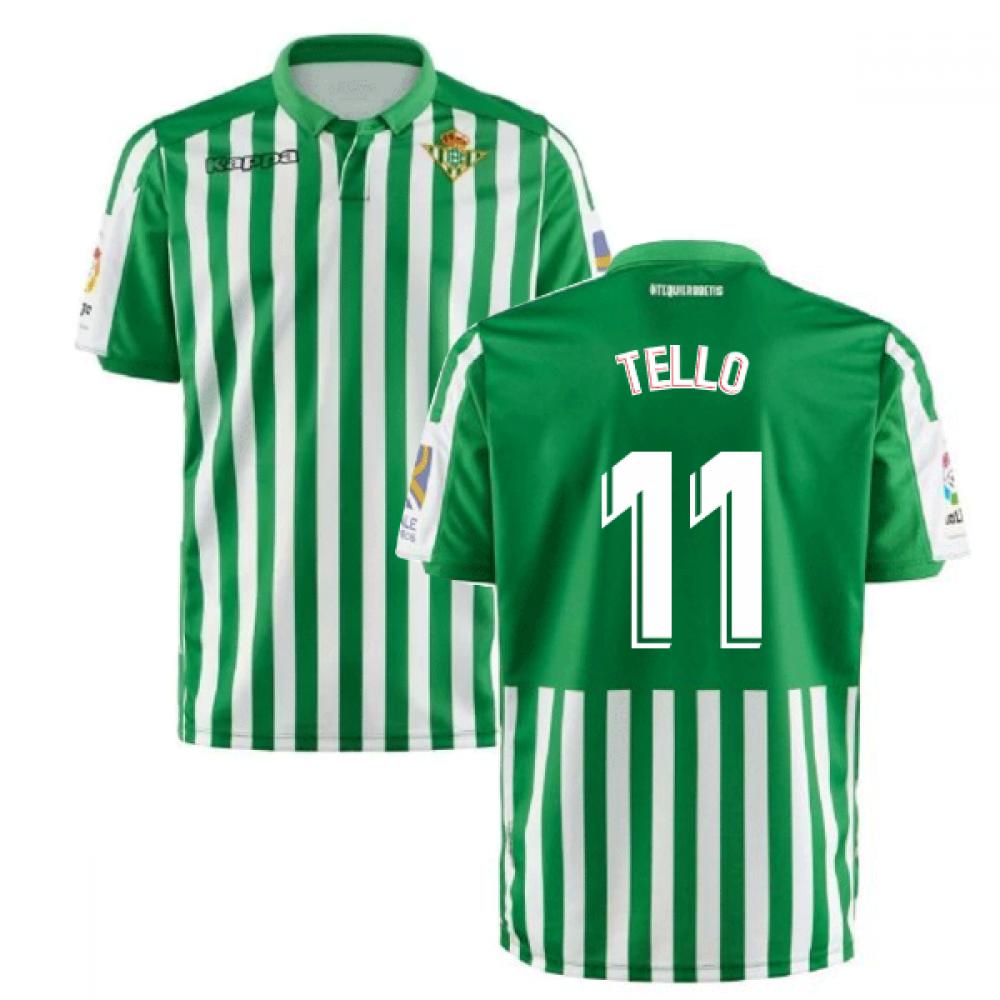 2019 2020 Real Betis Kappa Home Shirt Tello 11 304ncs0 901 144617 102 99 Teamzo Com