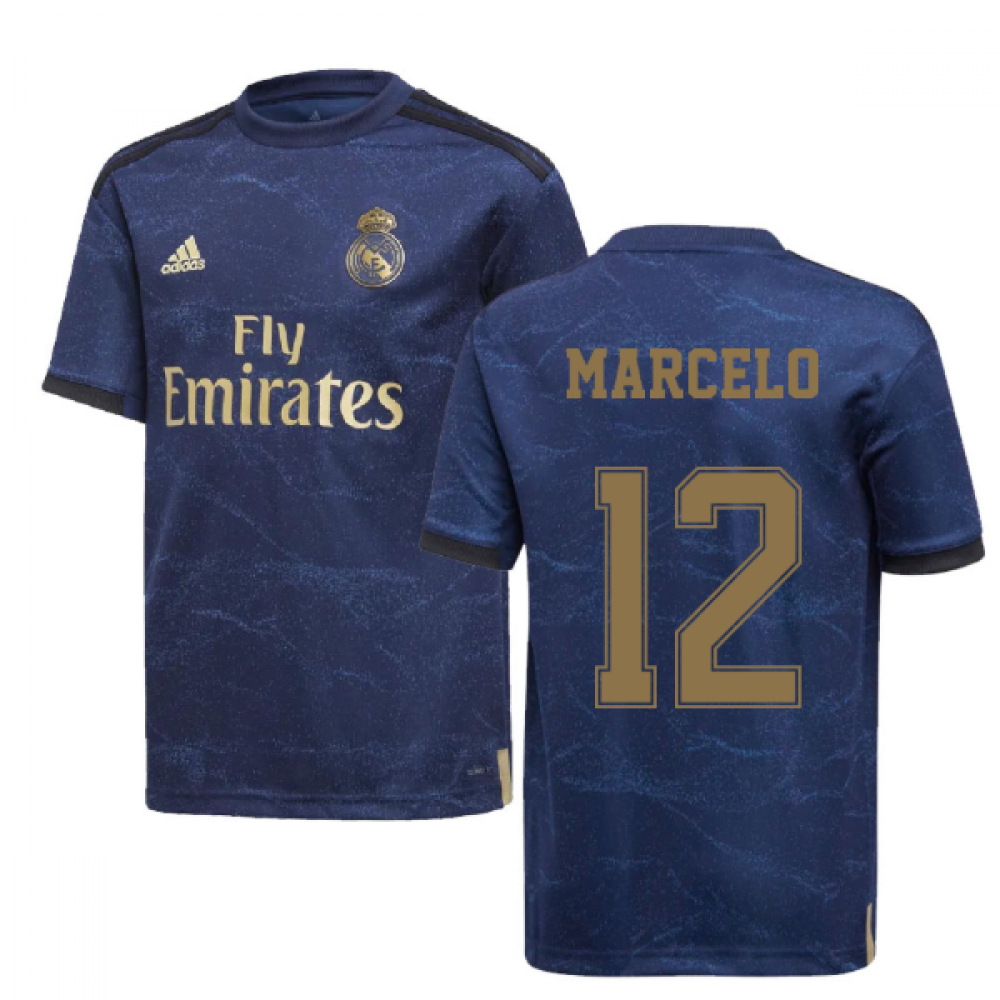 low priced aebee d4469 2019-2020 Real Madrid Adidas Away Shirt (Kids) (MARCELO 12)