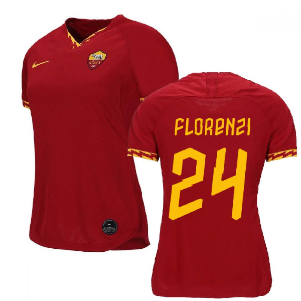 2019-2020 Roma Home Nike Ladies Shirt (FLORENZI 24)