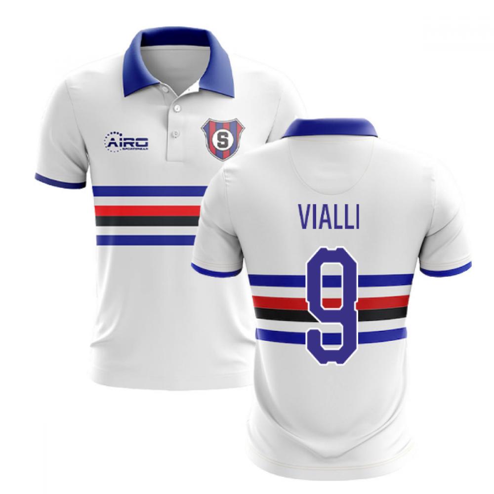 2020-2021 Sampdoria Away Concept Football Shirt (VIALLI 9)