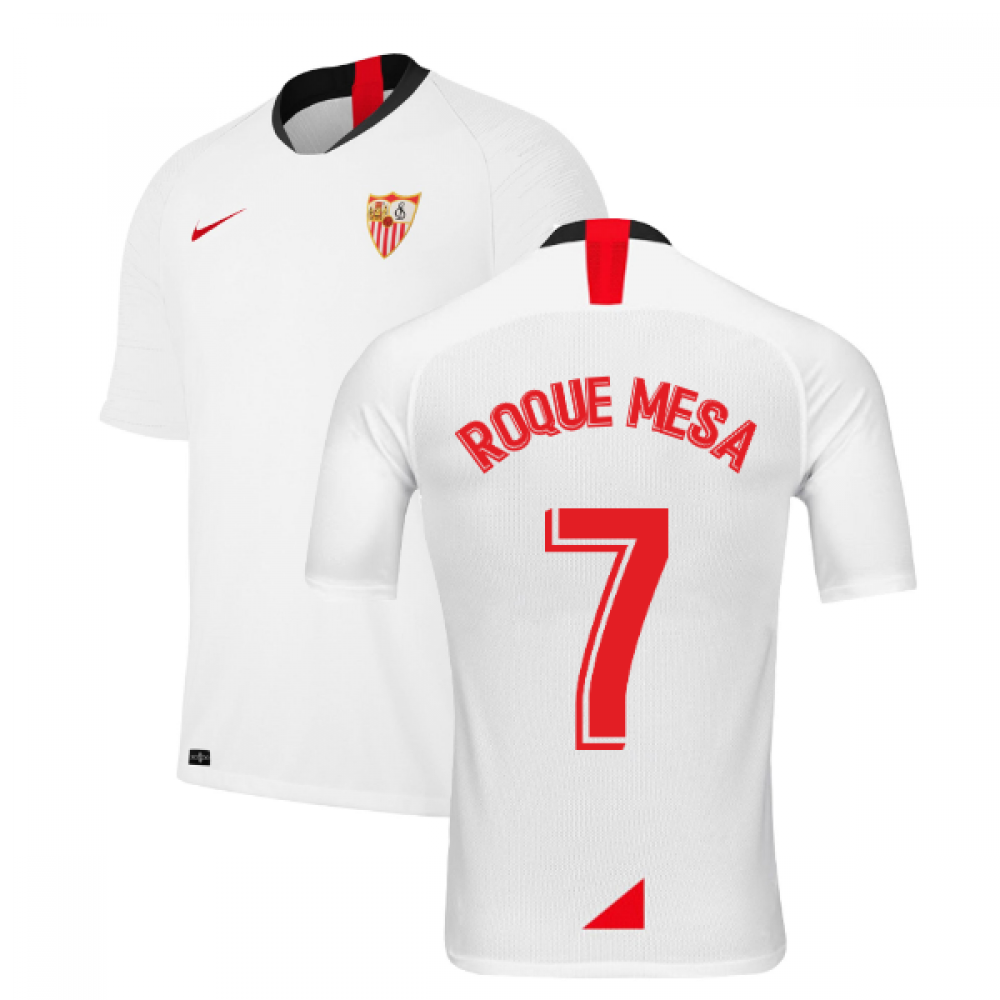 2019-2020 Sevilla Home Shirt (Kids) (ROQUE MESA 7)
