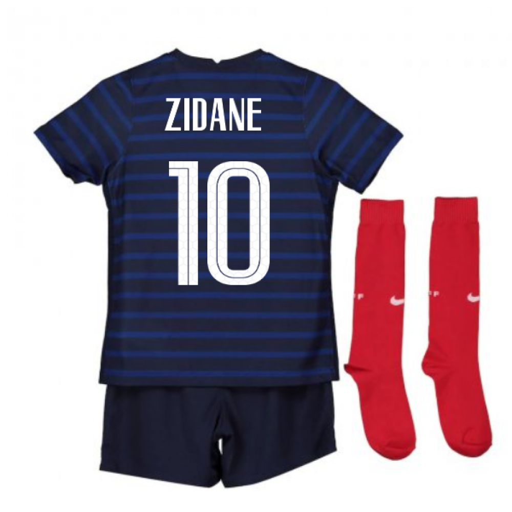 2020 2021 France Home Nike Mini Kit Zidane 10 Cd1271 498 184233 77 24 Teamzo Com