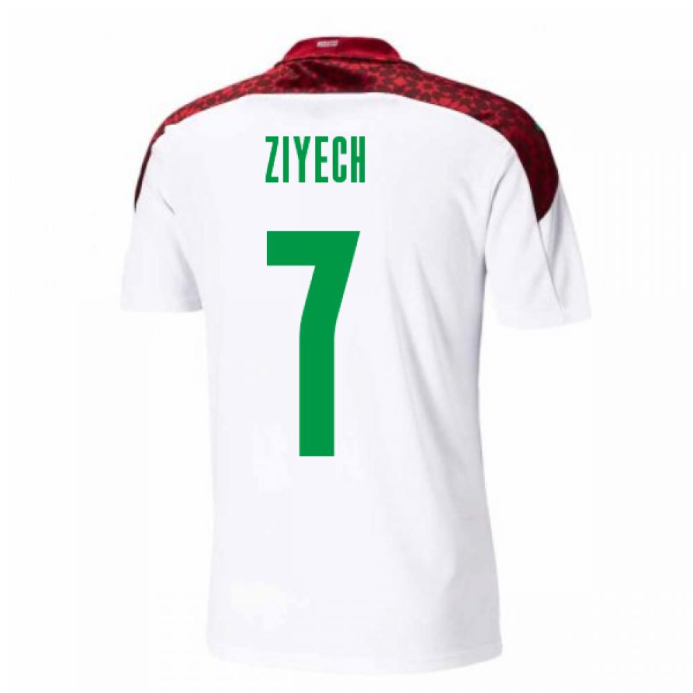 2020-2021 Morocco Away Shirt (ZIYECH 7)