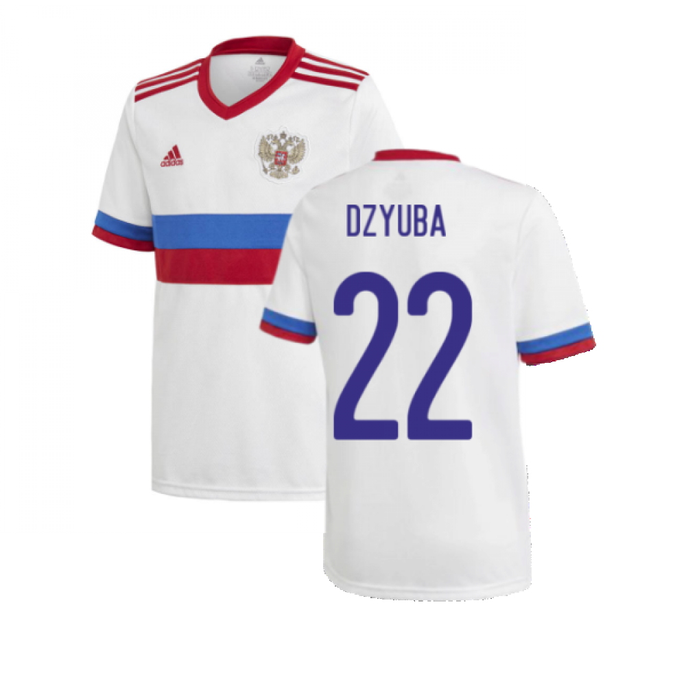 2020-2021 Russia Away Shirt (Kids) (DZYUBA 22)