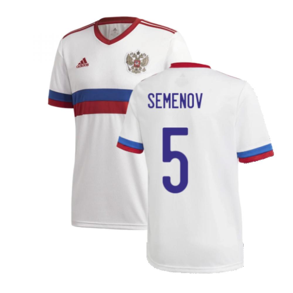 2020-2021 Russia Away Shirt (SEMENOV 5)