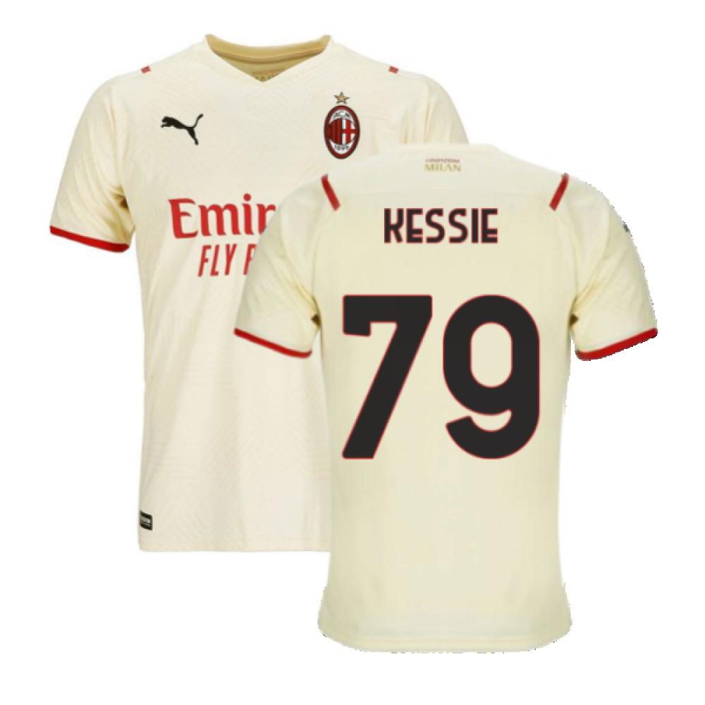 2021-2022 AC Milan Away Shirt (KESSIE 79)