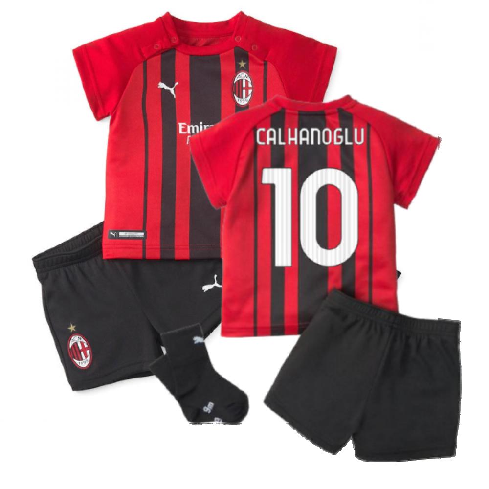 2021-2022 AC Milan Home Baby Kit (CALHANOGLU 10)
