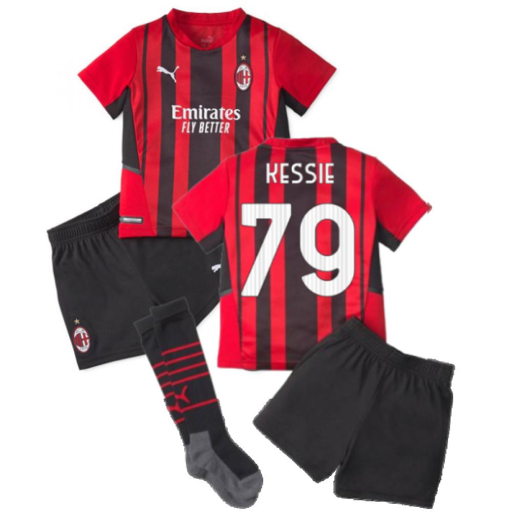 2021-2022 AC Milan Home Mini Kit (KESSIE 79)