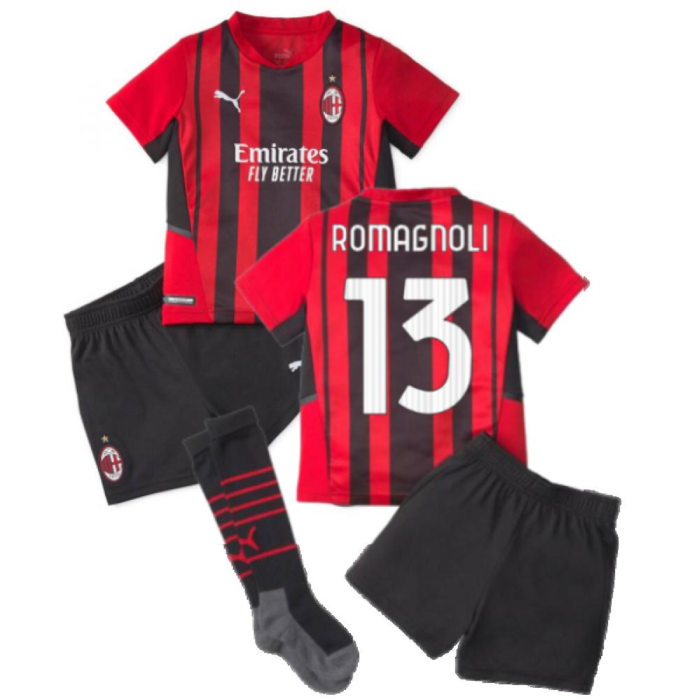 2021-2022 AC Milan Home Mini Kit (ROMAGNOLI 13)