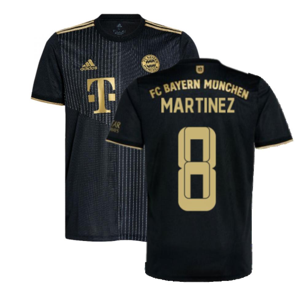 2021-2022 Bayern Munich Away Shirt (MARTINEZ 8)
