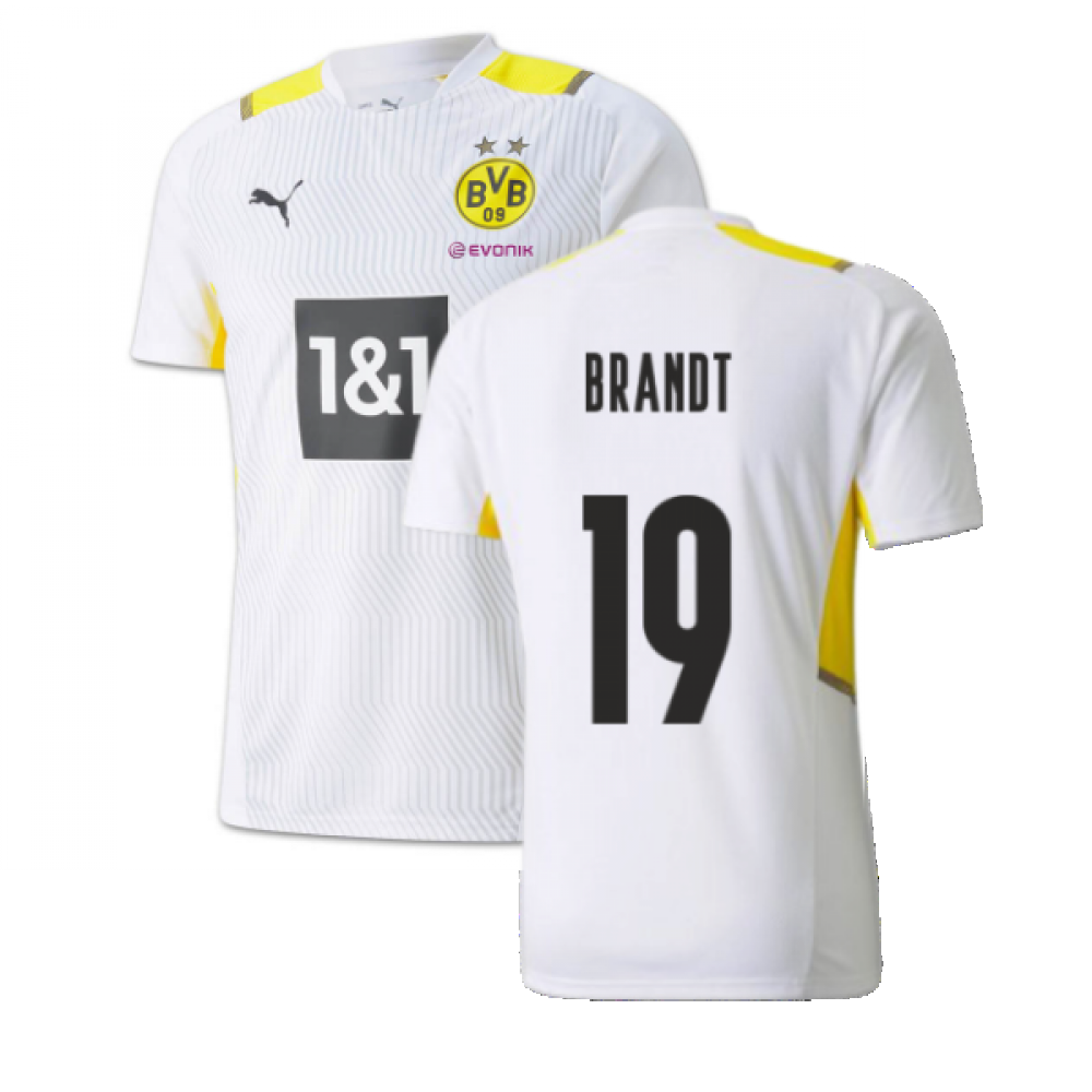2021 2022 Borussia Dortmund Training Jersey White Brandt 19 75906308 223884 69 19 Teamzo Com