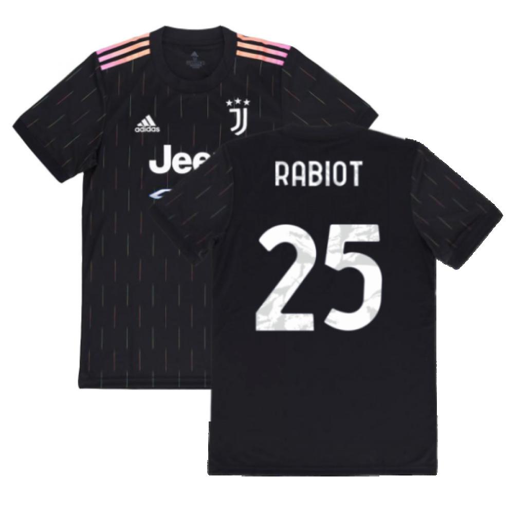 2021-2022 Juventus Away Shirt (RABIOT 25)