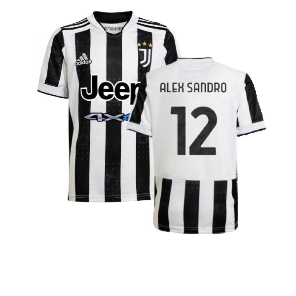2021-2022 Juventus Home Shirt (Kids) (ALEX SANDRO 12)