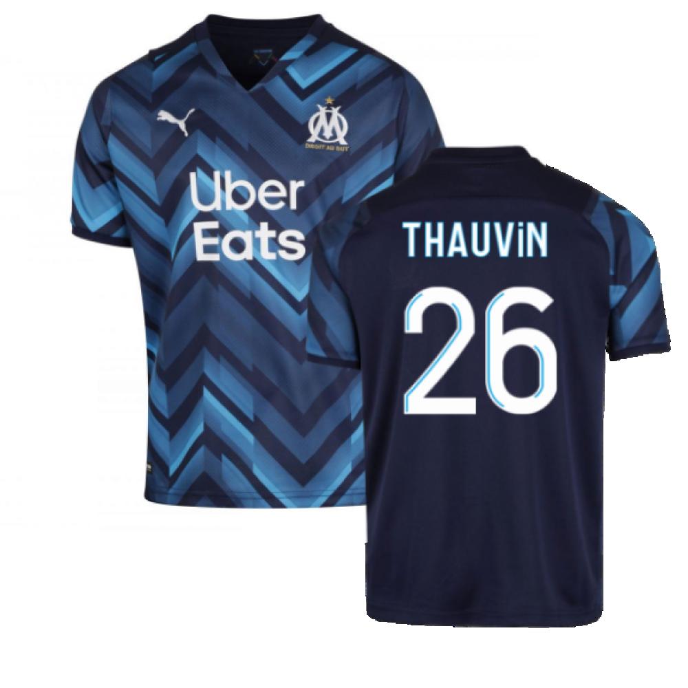 2021-2022 Marseille Away Shirt (THAUVIN 26)