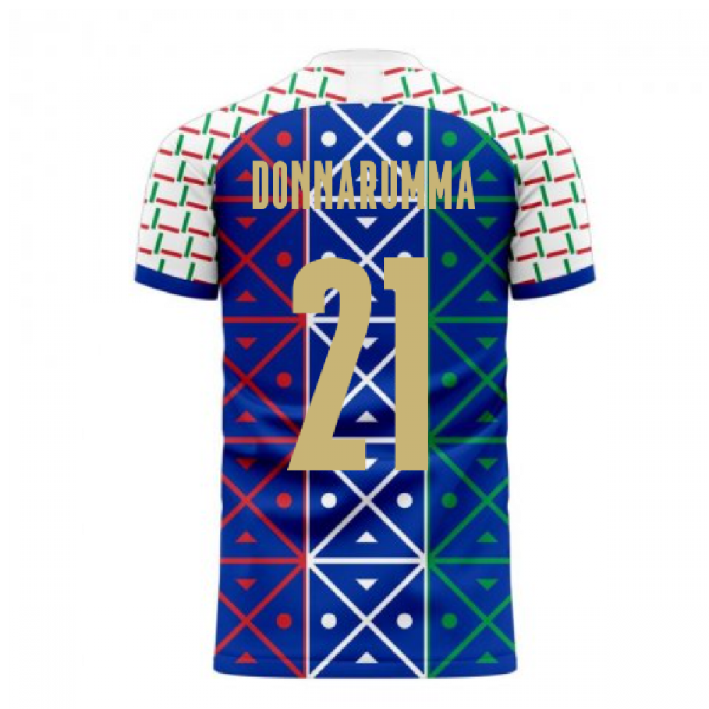 Italy 2020-2021 Renaissance Home Concept Football Kit (Libero) (DONNARUMMA 21)