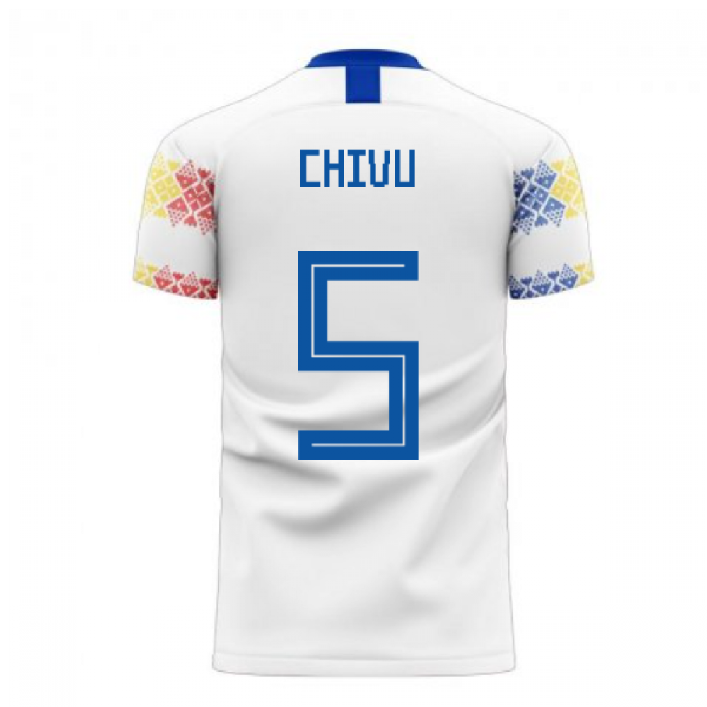 Romania 2020-2021 Away Concept Football Kit (Libero) (CHIVU 5)