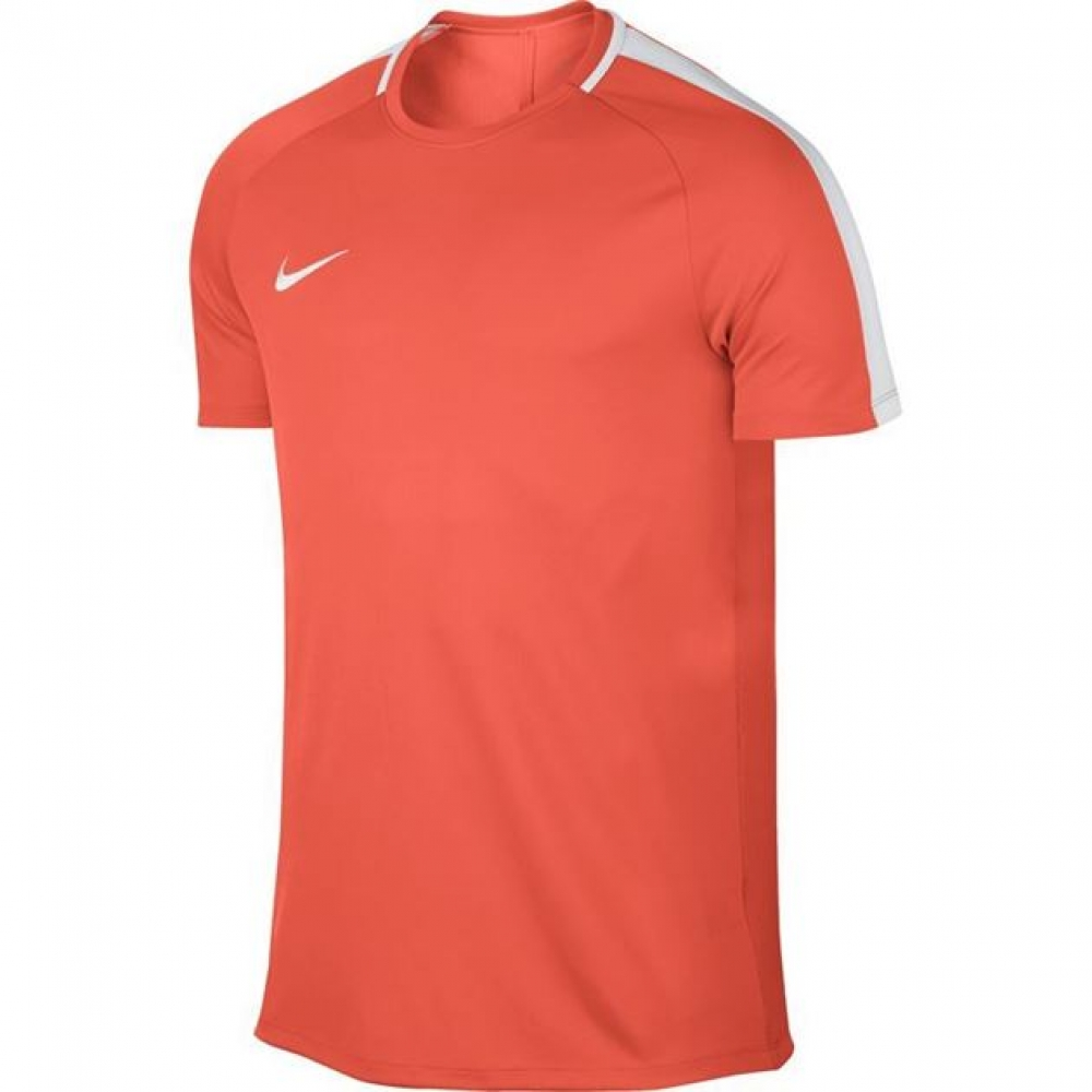 nike mens dry academy ss training top turf orange 832967 842. Black Bedroom Furniture Sets. Home Design Ideas