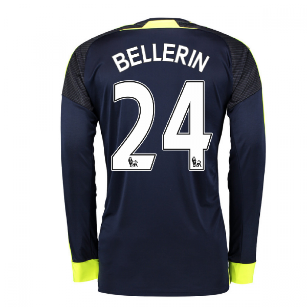 2016 17 arsenal long sleeve 3rd shirt bellerin 24 for Arsenal t shirts sale