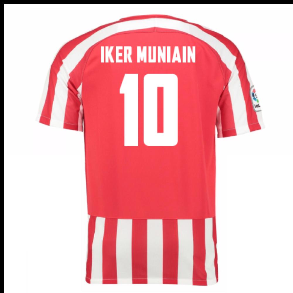 2016 17 athletic bilbao home shirt iker muniain 10