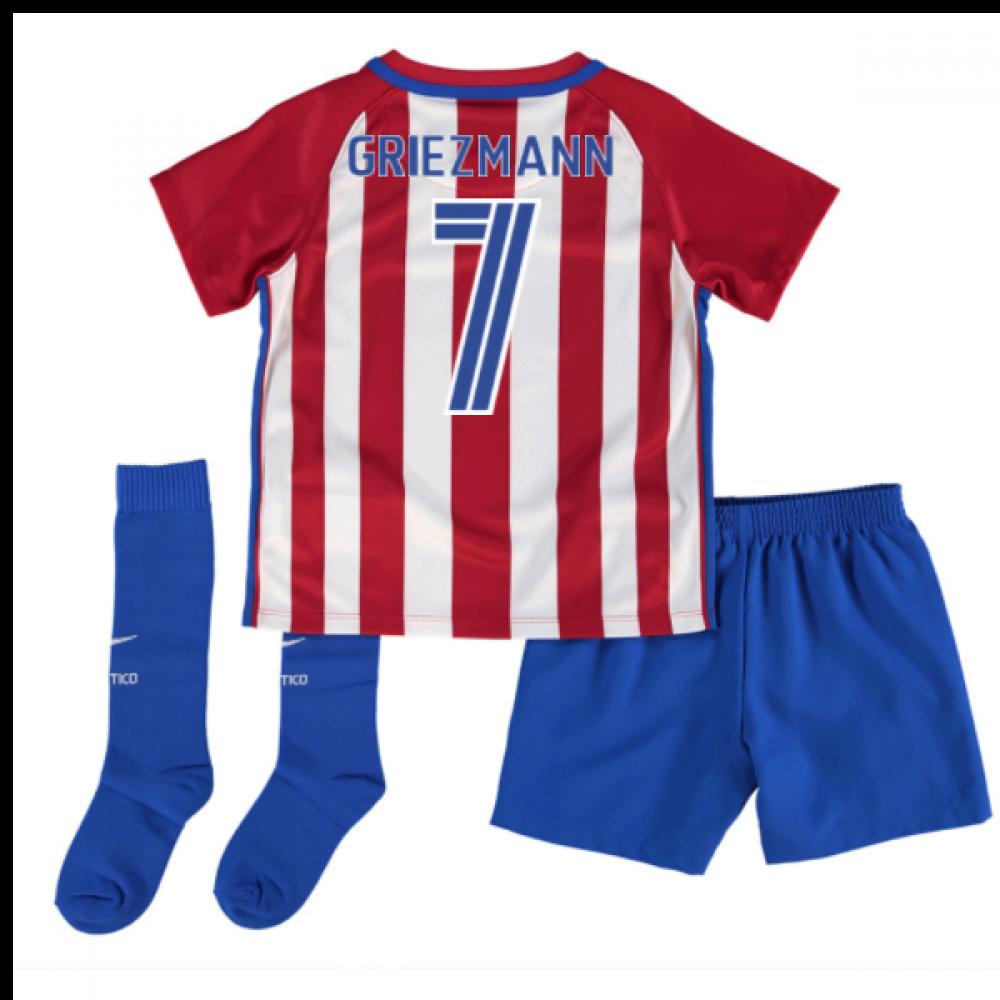 d9e8ccaebad 2016-17 Atletico Madrid Mini Kit (Griezmann 7)  808272-649-84180 ...