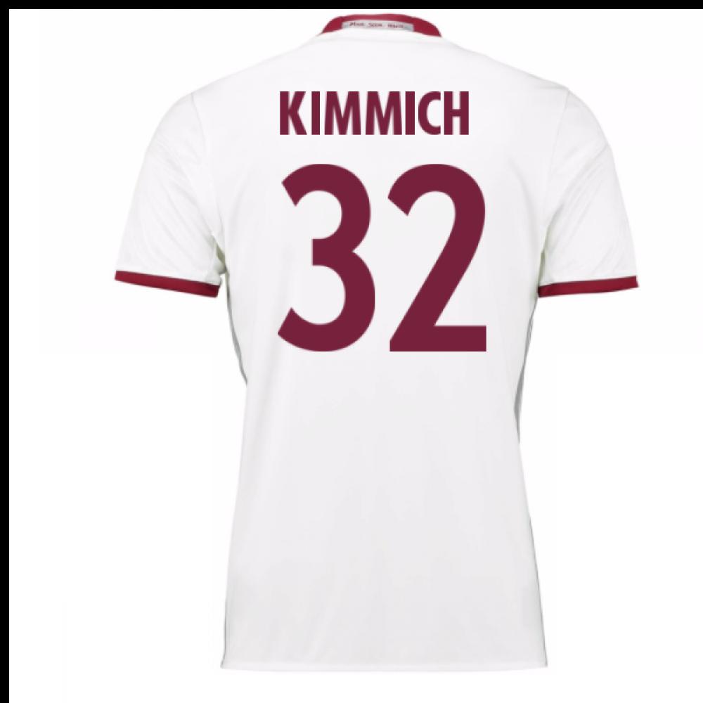 half off 16212 ccab0 2016-17 Bayern Munich Third Shirt (Kimmich 32) - Kids