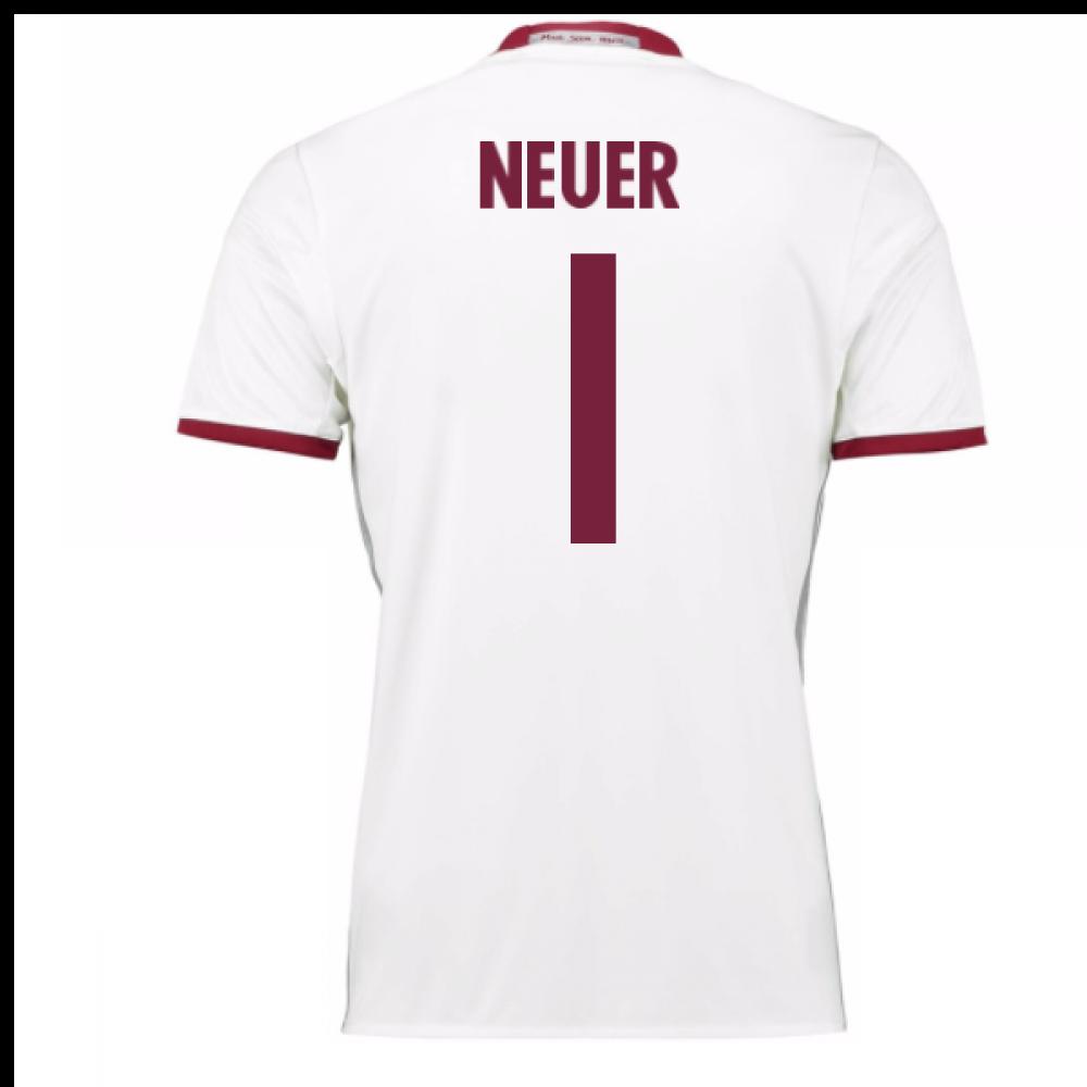 6f1fc2a68 2016-17 Bayern Munich Third Shirt (Neuer 1) - Kids  AZ4667-85553 ...