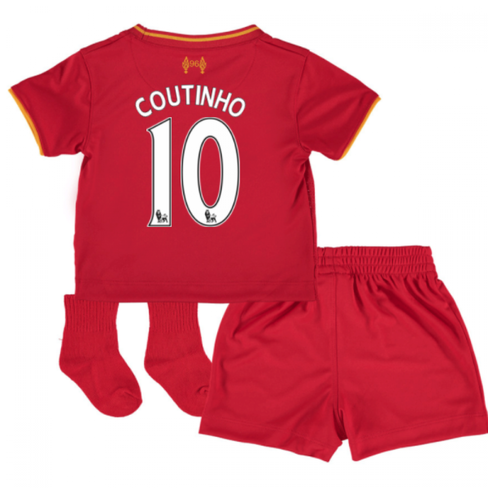 2016-17 Liverpool Home Baby Kit (Coutinho 10)  BY630001-83757 ... d8a0efb5b