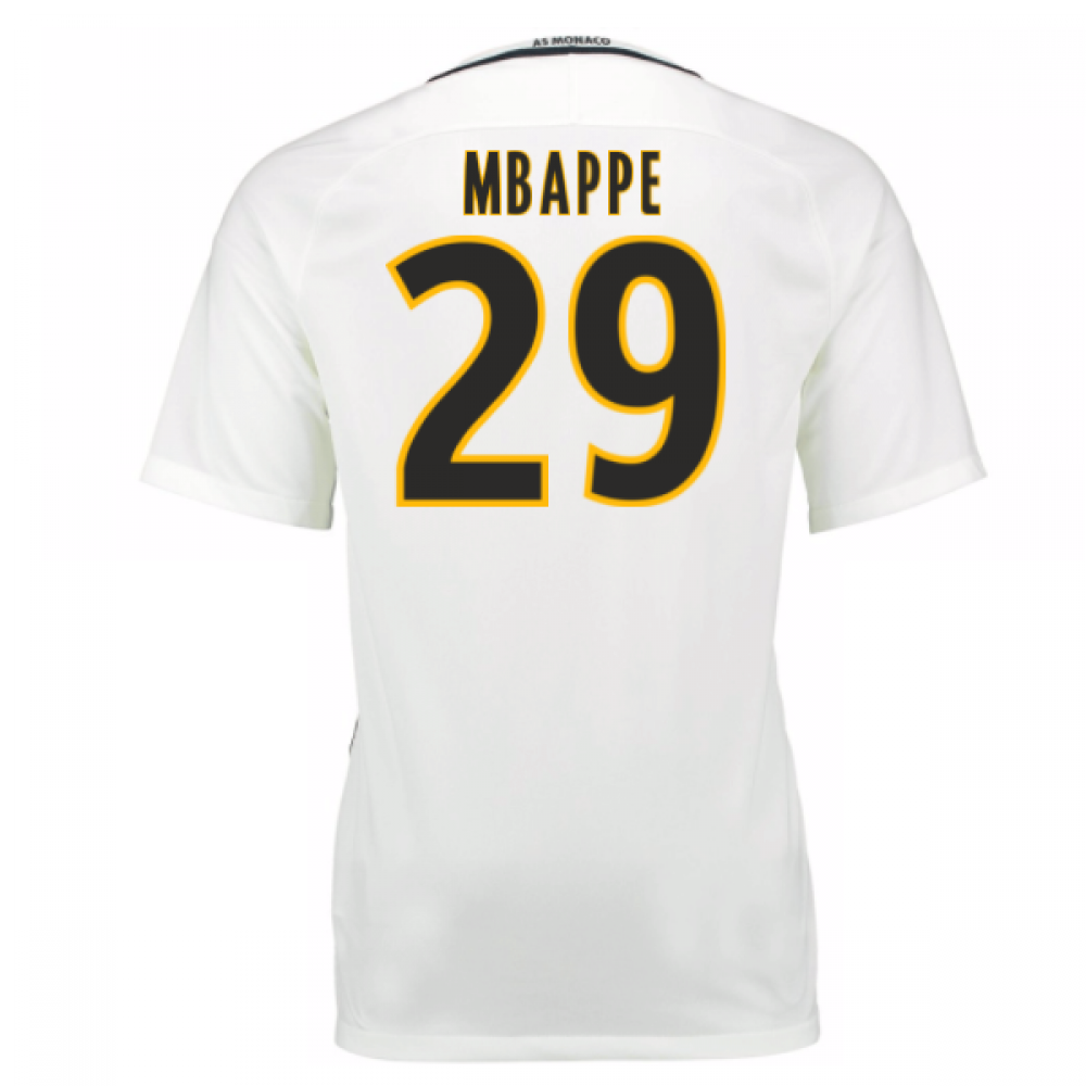 2016 17 monaco away shirt mbappe 29 776802 133 86221. Black Bedroom Furniture Sets. Home Design Ideas