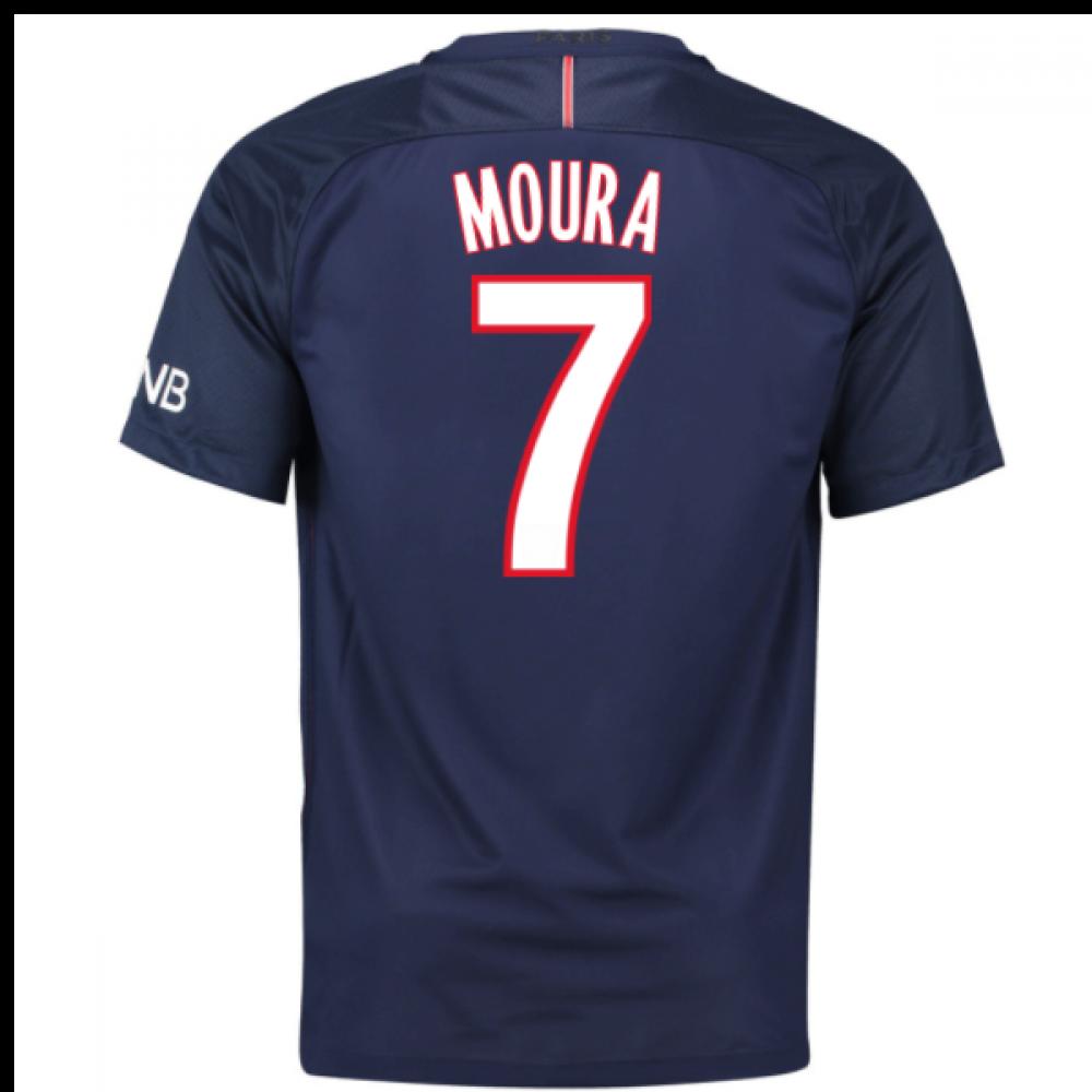 2016-17 PSG Home Shirt (Moura 7) [776929-410-85202]