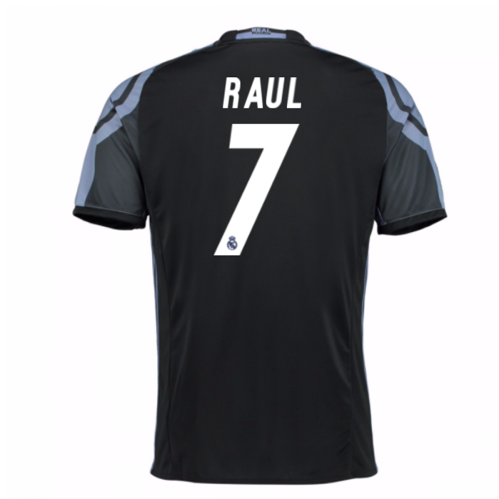 separation shoes 0fd7f 00022 2016-17 Real Madrid 3rd Shirt (Raul 7)