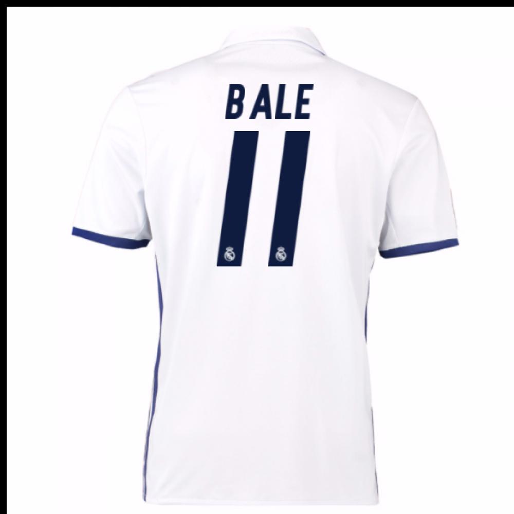 big sale 6ea4a 39641 2016-17 Real Madrid Home Shirt (Bale 11) - Kids