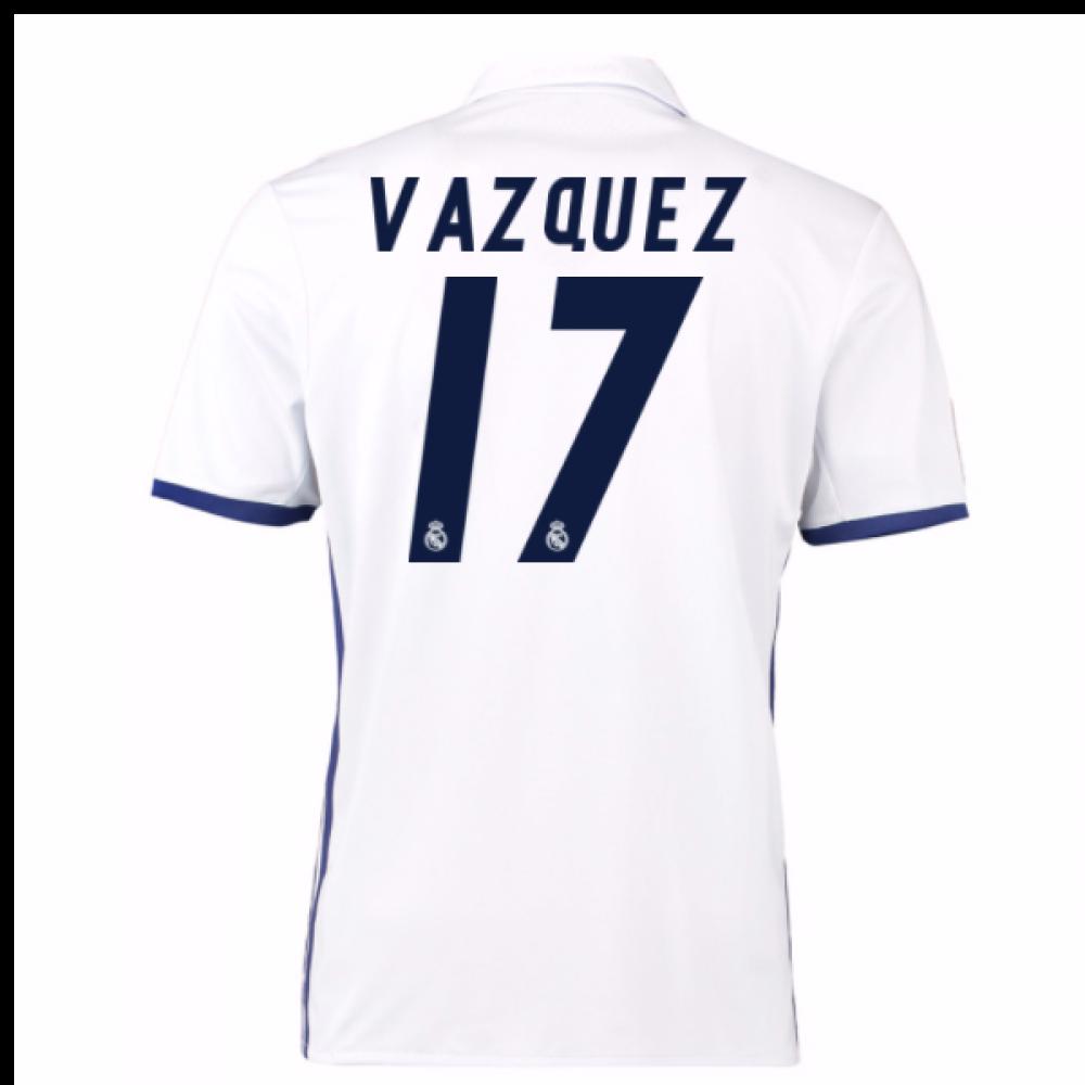 Maillot Extérieur Real Madrid L. Vázquez
