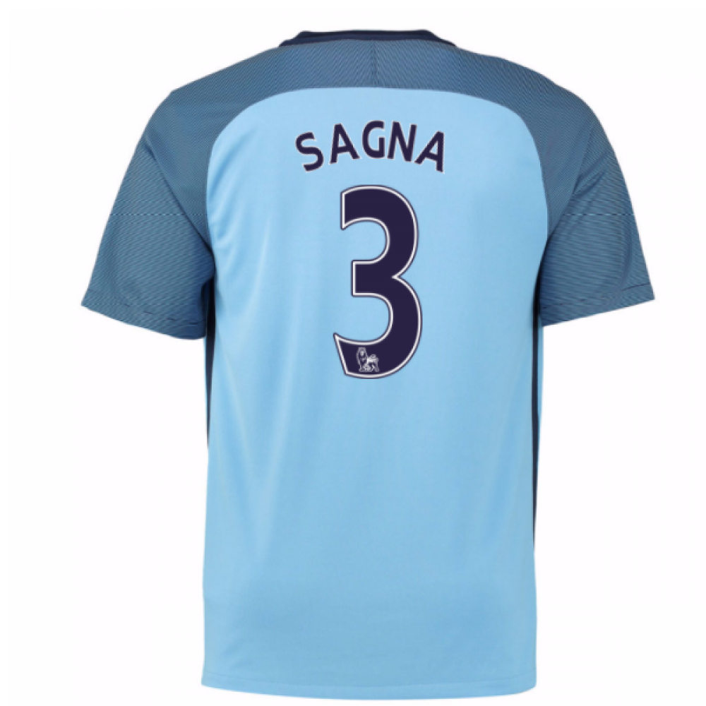 5b816428d ... Man City Home Shirt (Sagna 3) 776907-489-82152 cheap Arsenal Home Red  Long Sleeve Soccer Jersey Shirt Replica Nike France 15 Bacary Sagna White  2014 ...