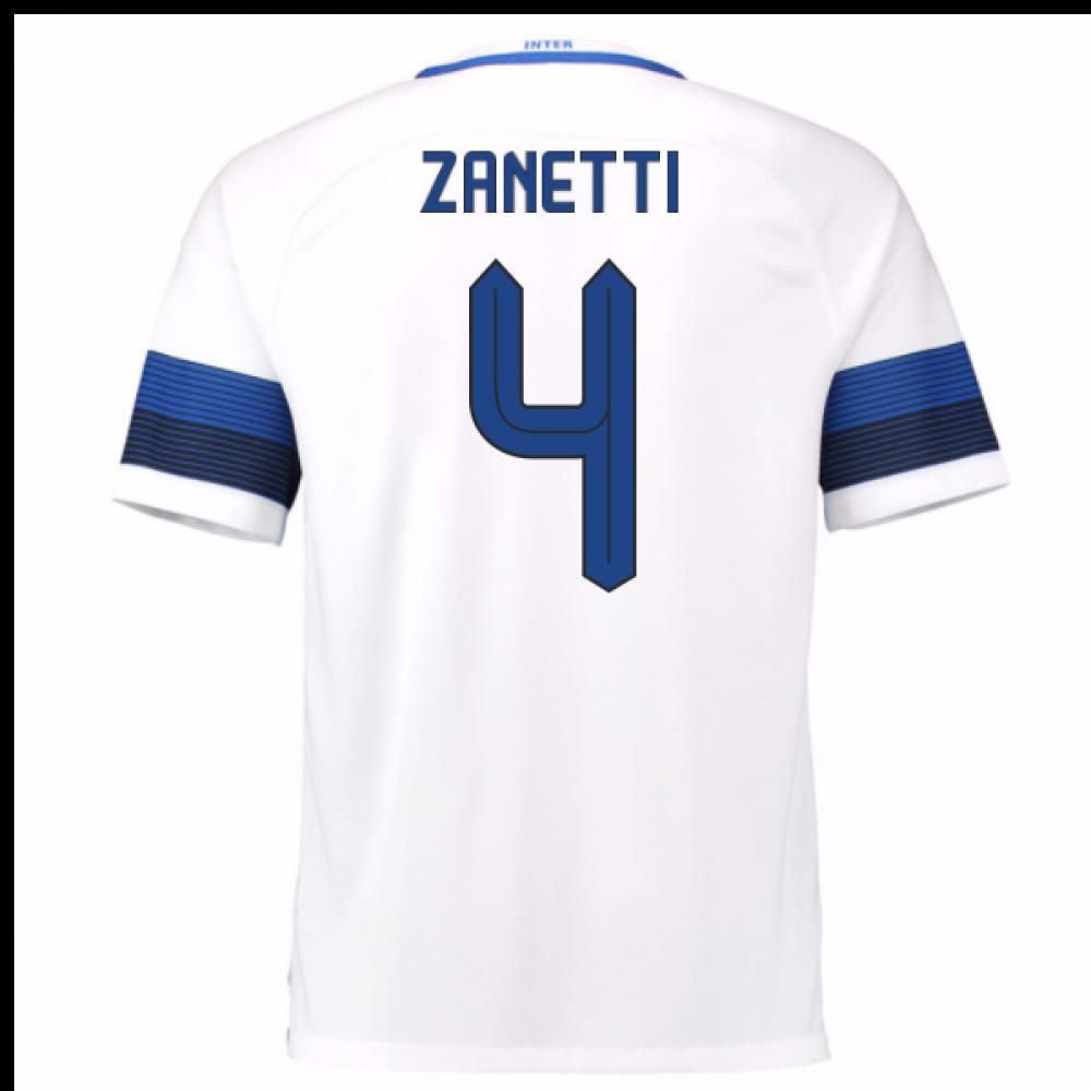 2a2f9490685 2016-17 Inter Milan Away Shirt (Zanetti 4)  776888-101-83156 ...