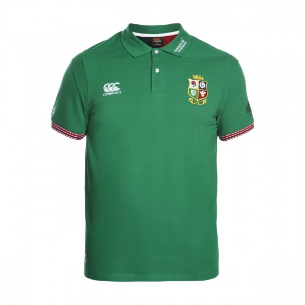 2016 2017 British Irish Lions Rugby Vapodri Cotton Polo