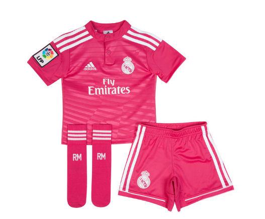 Real Madrid 14-15 Away Mini Kit [M37326] - $32.94 Teamzo.com