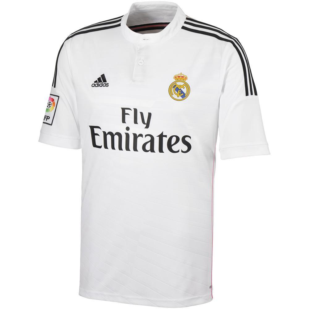 af9ee621b Real Madrid 14-15 Home Shirt  F50637  -  32.80 Teamzo.com