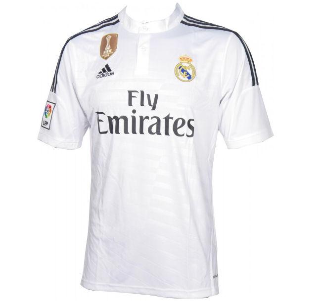 ca7c64e57 Real Madrid 14-15 WC Home Shirt ...