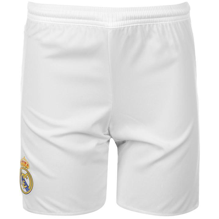 73e14c6f9 Real Madrid 2015-2016 Home Shorts (White) - Kids [S12616] - $7.61 Teamzo.com