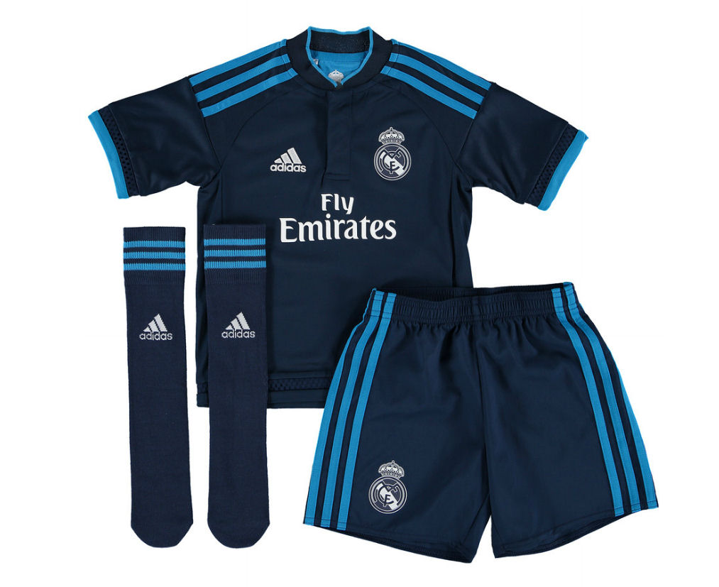 Real Madrid 2015-2016 Third Mini Kit  AH6758  -  56.43 Teamzo.com 69ba33bd9