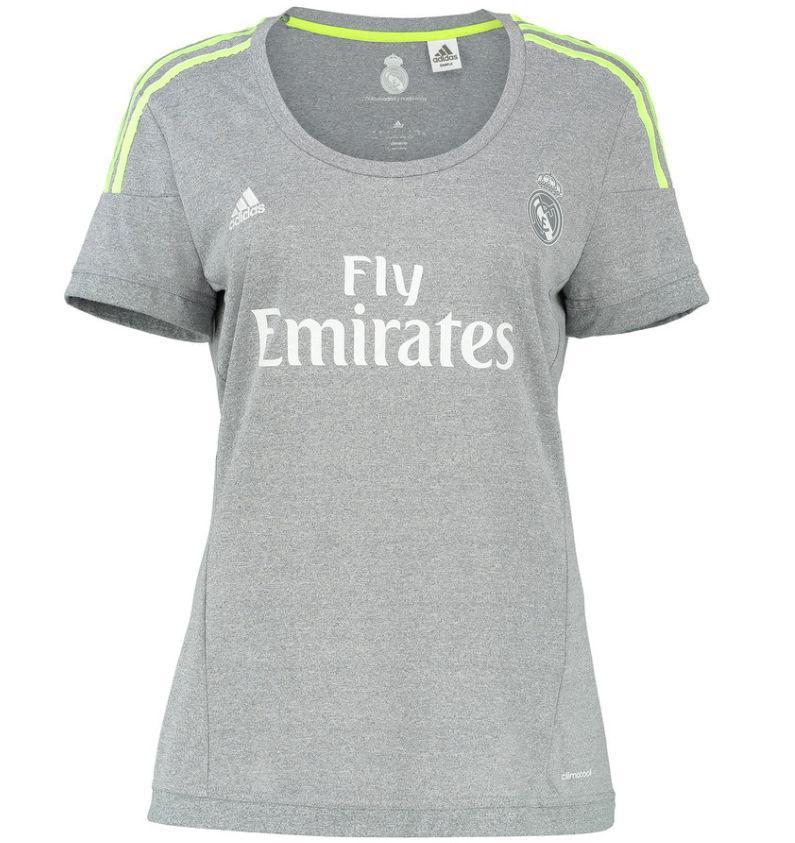 buy online 152b2 660fc Real Madrid 2015-2016 Ladies Away Shirt