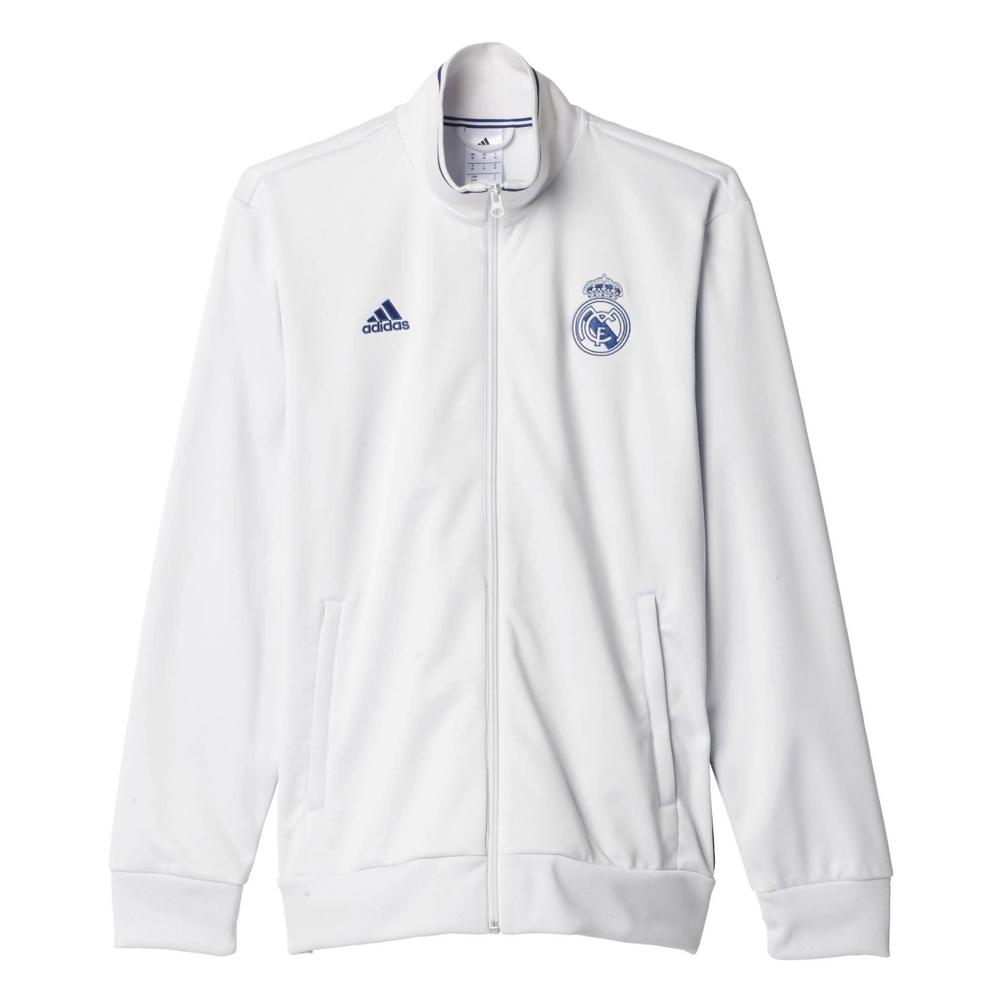online store 24b13 6202b Real Madrid 2016-2017 3S Track Top (White)