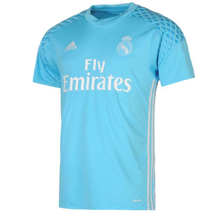 free shipping 4e11c 7f7b7 Real Madrid 2016-2017 Home Goalkeeper Shirt