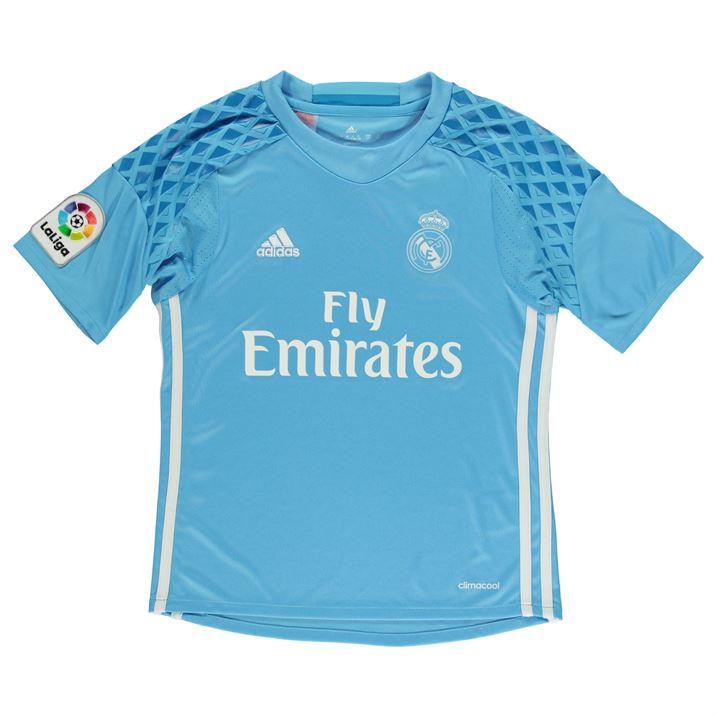Real Madrid 2016-2017 Home Goalkeeper Shirt (Blue)  AI5177  -  25.65 ... d403be65b5a